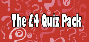 Pub Quizzes - single quiz pack